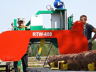 Ленточная пилорама RTW 600 фото 1