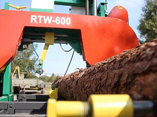 Ленточная пилорама RTW 600 фото 2