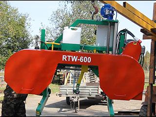 Ленточная пилорама RTW 600 фото 3