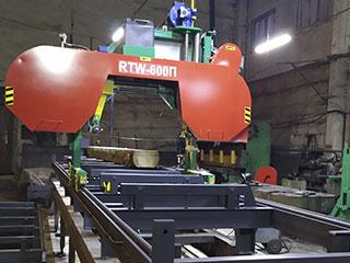 Ленточная пилорама RTW 600П