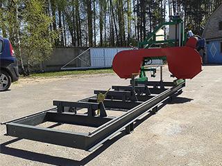 RTW 600 - Ленточная пилорама - 02