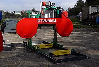 Ленточная пилорама RTW 500М