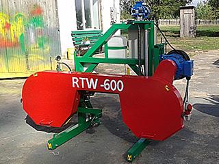 Ленточная пилорама RTW 600