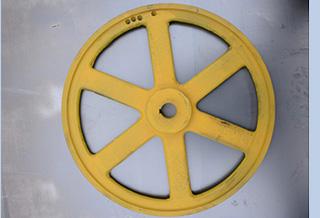 Ведущее колесо для ленточной пилорамы